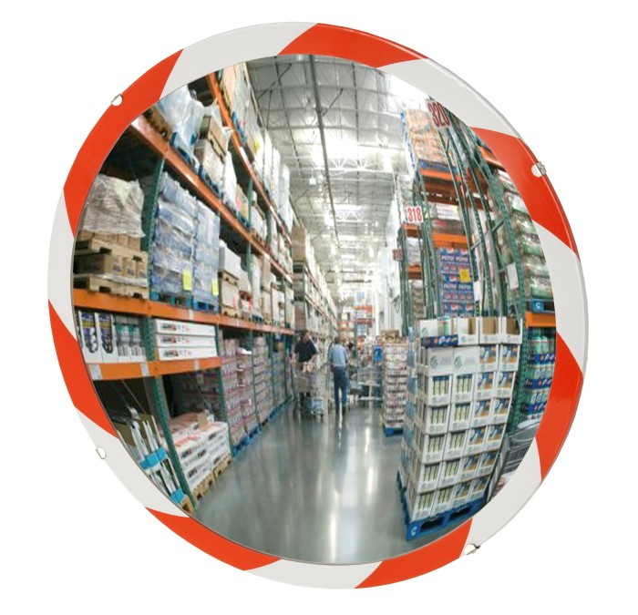 See All SN30 Convex Mirror Indoor Use Shatter Resistant Glass Face 30 Diameter