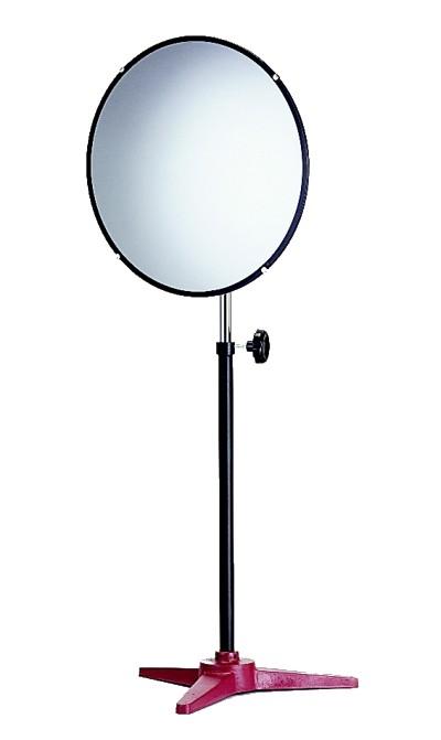 Convex Mirror With Telescoping Pedestal
