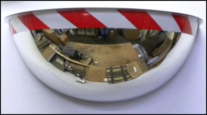 View/® 26 Half Dome 180 Degree Mirror