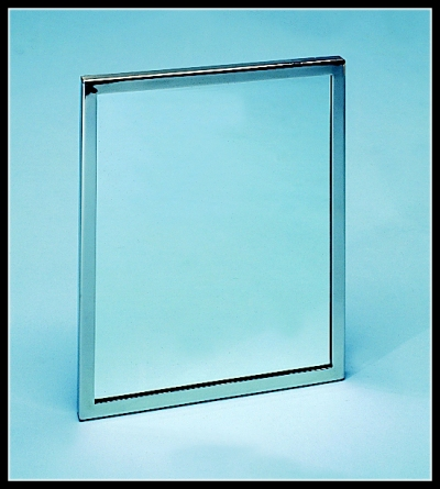 Stainless Steel Framed Mirror